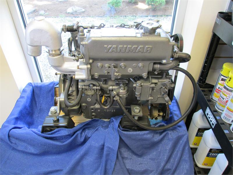 REBUILT YANMAR ENGINES